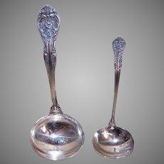 4 Gorham King Edward Pattern Sterling Silver Serving Pieces