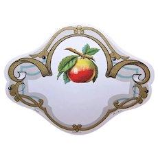 Art Nouveau French Golden Apple Label Printed in France Golden Apples