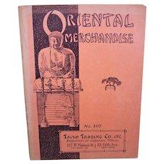 1930s Taiyo Trading Co Oriental Merchandise Wholesale Catalogue - Japanese Majolica, Lustreware & More
