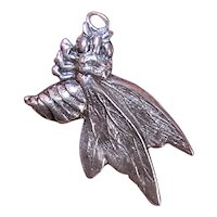 Sterling Silver Charm - World War II Symbol - Hornet aka Wasp