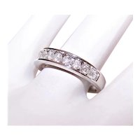 14K Gold .65CT TW Diamond Wedding Ring Wedding Band - Size 6.25