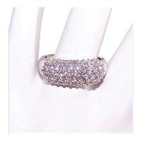 14K Gold .60CT TW Diamond Wedding Ring Wedding Band - Size 7
