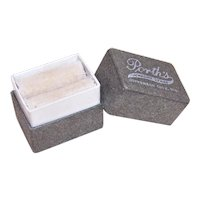 Antique Paper Jewelry Box - Ring Box - Porth's Jewelry Store, Jefferson City, Mo Jeweler