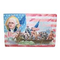 Raphael Tuck & Sons Postcard - George Washington Crossing the Delaware