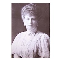 Real Photo Postcard British Royalty - Her Majesty Queen Mary aka Princess Mary of Teck