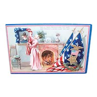 Raphael Tuck & Sons Postcard - Decoration Day Series No 158 - Civil War Remembrance of Soldier