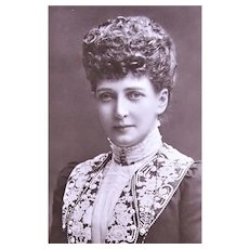 Real Photo Postcard British Royalty - Her Majesty Queen Alexandra