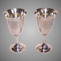International Sterling Silver Lord Saybrook Goblet No Monogram