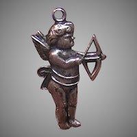 Vintage UNCAS Sterling Silver Cupid Charm