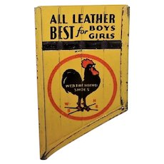 Vintage Weatherbird Tin Flute Premium | All Leather Best for Boys & Girls | Rooster Logo