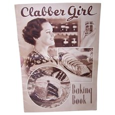 C.1935 Clabber Girl Baking Powder Recipe Booklet Baking Book