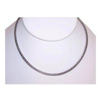 """Milor Made in Italy Italian Sterling Silver 2.5mm 19"""" Chain Necklace 