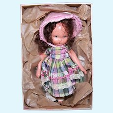 Nancy Ann Storybook Doll #114 Over the Hills To Grandma's House | Original Box and Leaflet