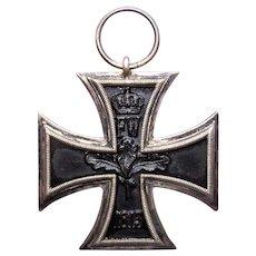 World War I Prussian Iron Cross Medal Second Class - No Ribbon
