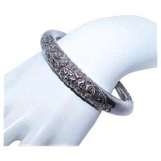 Made in Cambodia Cambodian Sterling Silver Cuff Bracelet