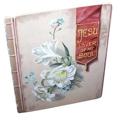 Antique Religious Booklet - Jesu, Lover of My Soul