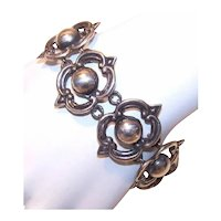 Isidro Garcia Pina aka Maricela Sterling Silver Link Bracelet - Made in Mexico Mexican