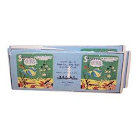 3 Complete Sets Craftsmen's Guild, Hollywood, CA Stereoscopic Cards - Childrens Nursery Stories
