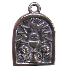 Retired James Avery Sterling Silver Charm | First Communion