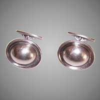 Hans Hansen Denmark Sterling Silver Cufflinks Design #611