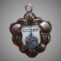 SP Enamel Travel Souvenir Charm for Ottawa, Canada