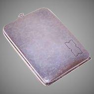 Webster Co Sterling Cigarette Holder Compact