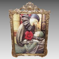 Stunning NAPOLEON III French Dore Bronze Picture Frame!