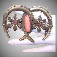 Antique Victorian Costume Pin