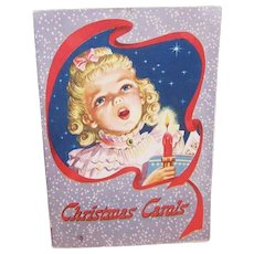 C.1950 Booklet of Christmas Carols - First National Bank in St. Louis!