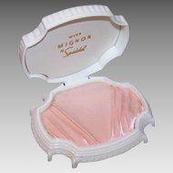 Vintage SPEIDEL Hard Plastic Jewelry Box for Mignon Necklace!