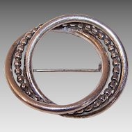 MID CENTURY Modern Sterling Silver Pin/Brooch by Beau!