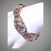 Vintage STERLING SILVER Link Bracelet by JosKahn, Denmark!