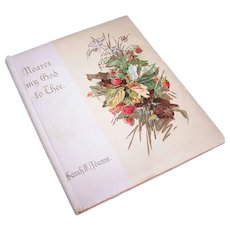 C.1900 NEARER MY GOD To Thee Illustrated Softcover Book - Illustrations by Catherine Klein aka C. Klein!