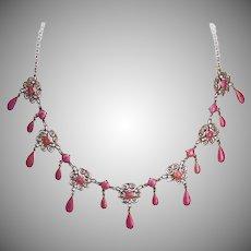 Marius Hammer 930 Silver Necklace
