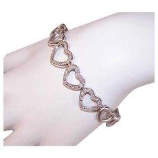 14K Gold .75CT TW Diamond Bracelet