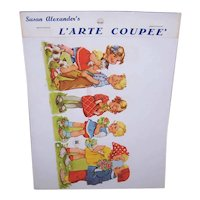 Vintage SUSAN ALEXANDER Die Cuts - FAS, West Germany, Children