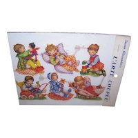 Vintage SUSAN ALEXANDER Die Cuts - Germany, FAS, 1401, Babies, Infants
