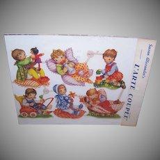 Vintage SUSAN ALEXANDER Die Cuts - Germany, FAS, 1401, Babies, Infants