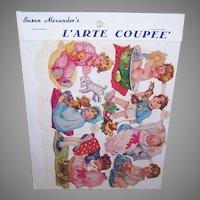 Vintage SUSAN ALEXANDER Die Cuts - Germany, FAS, 3136, Babies, Infants