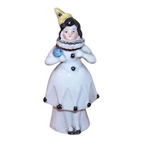 Art Deco Porcelain Penny Fairing Figurine - Pierrette