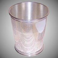 Reed & Barton, STERLING SILVER, Vintage Mint Julep Cup, Beaker - 173.6 Grams