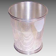 Reed & Barton, STERLING SILVER, Vintage Mint Julep Cup, Beaker - 171 Grams