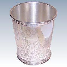 Reed & Barton, STERLING SILVER, Vintage Mint Julep Cup, Beaker - 159.4