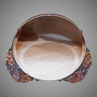 Deco Revival Floral Barbola Mirror