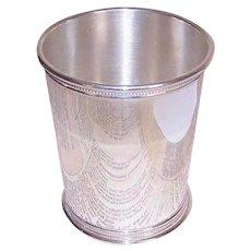 Reed & Barton, STERLING SILVER, Vintage Mint Julep Cup, Beaker - 165 Grams