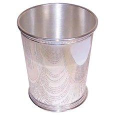 Reed & Barton, STERLING SILVER, Vintage Mint Julep Cup, Beaker - 158 Grams