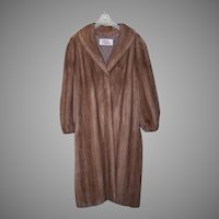 Vintage AUTUMN HAZE Ankle Length Mink Coat - Size 16/18  - Orig Retail $12,000