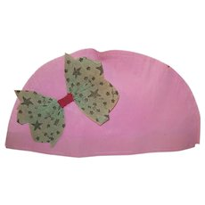 Made in Germany Pink Crepe Paper Party Hat