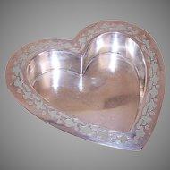 Gorham Sterling Heart Shaped Bowl