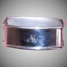 Webster Co Sterling Silver Napkin Ring